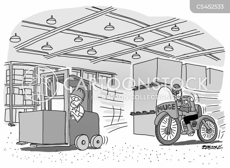 forklift cartoon