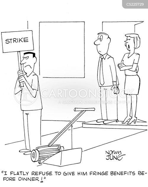 employee benefit cartoon