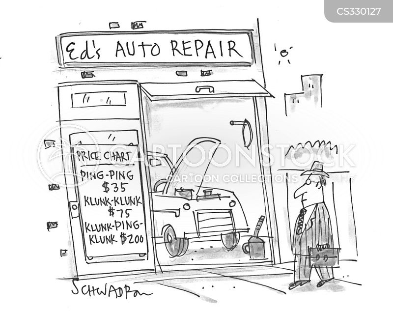 engine troubles cartoons and comics