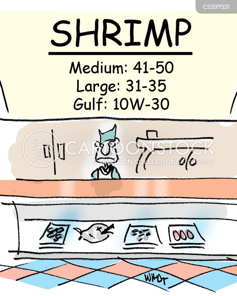 shrimp cartoon