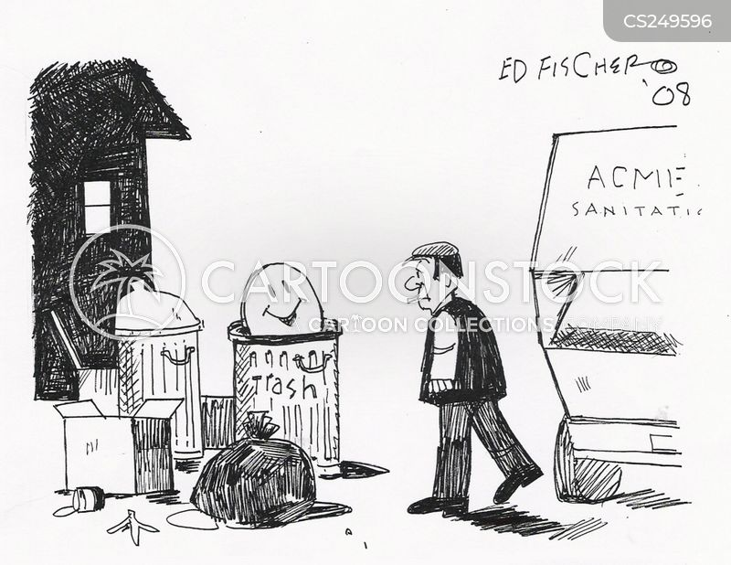 binmen cartoon