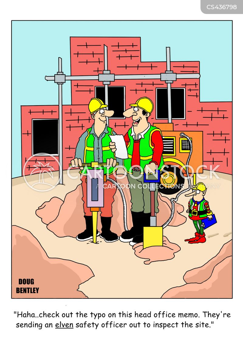 safety inspection cartoon