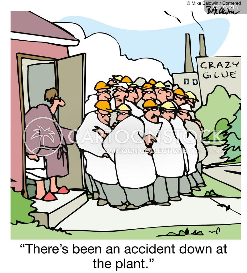Industrial Cartoon Pictures Industrial Accident Cartoon 6