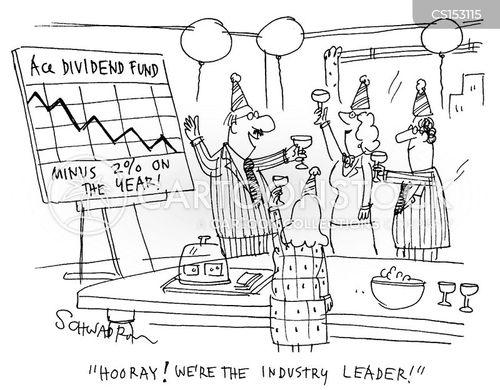 dividend funds cartoon