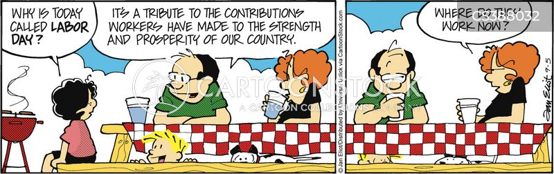 national holiday cartoon