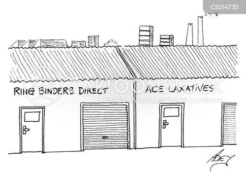 industrial estate cartoon