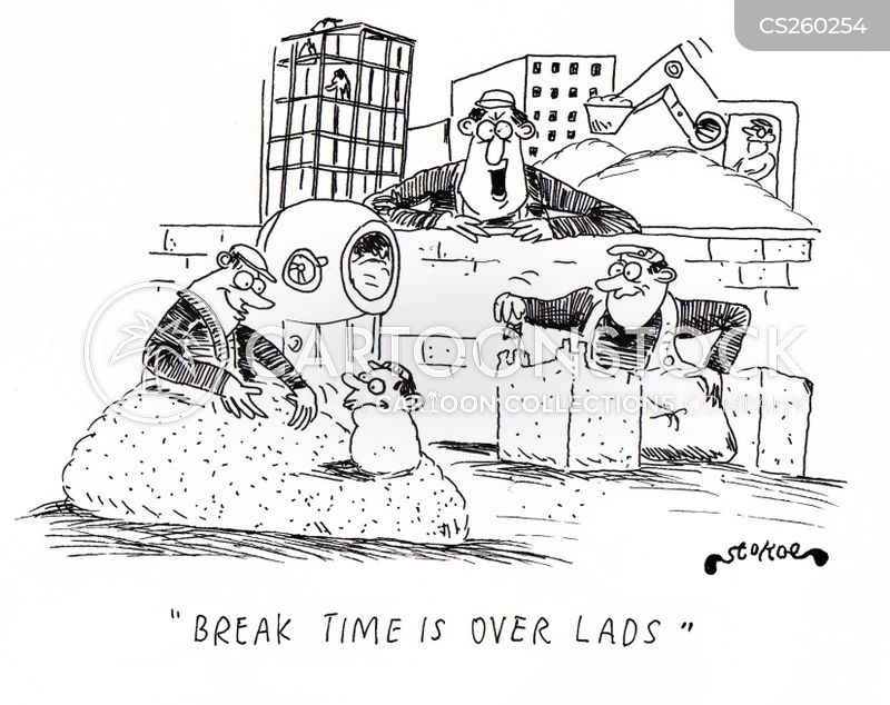break times cartoon