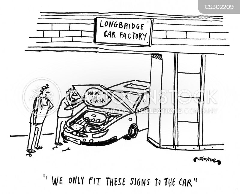 Car Factory cartoons, Car Factory cartoon, funny, Car Factory picture, Car Factory pictures, Car Factory image, Car Factory images, Car Factory illustration, Car Factory illustrations