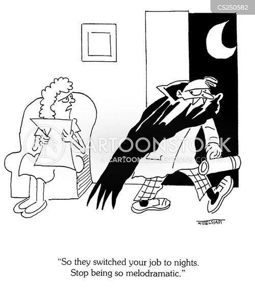 nightshift cartoon