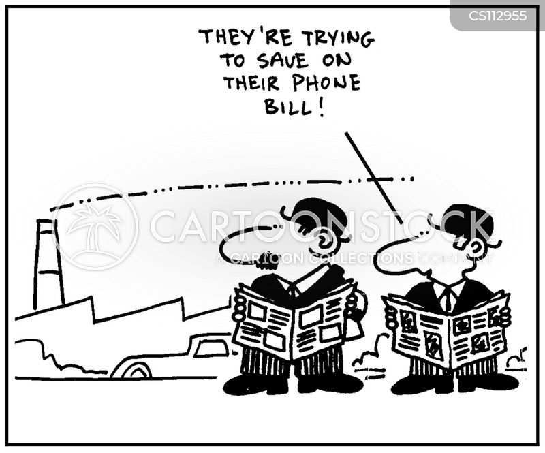 comms cartoon