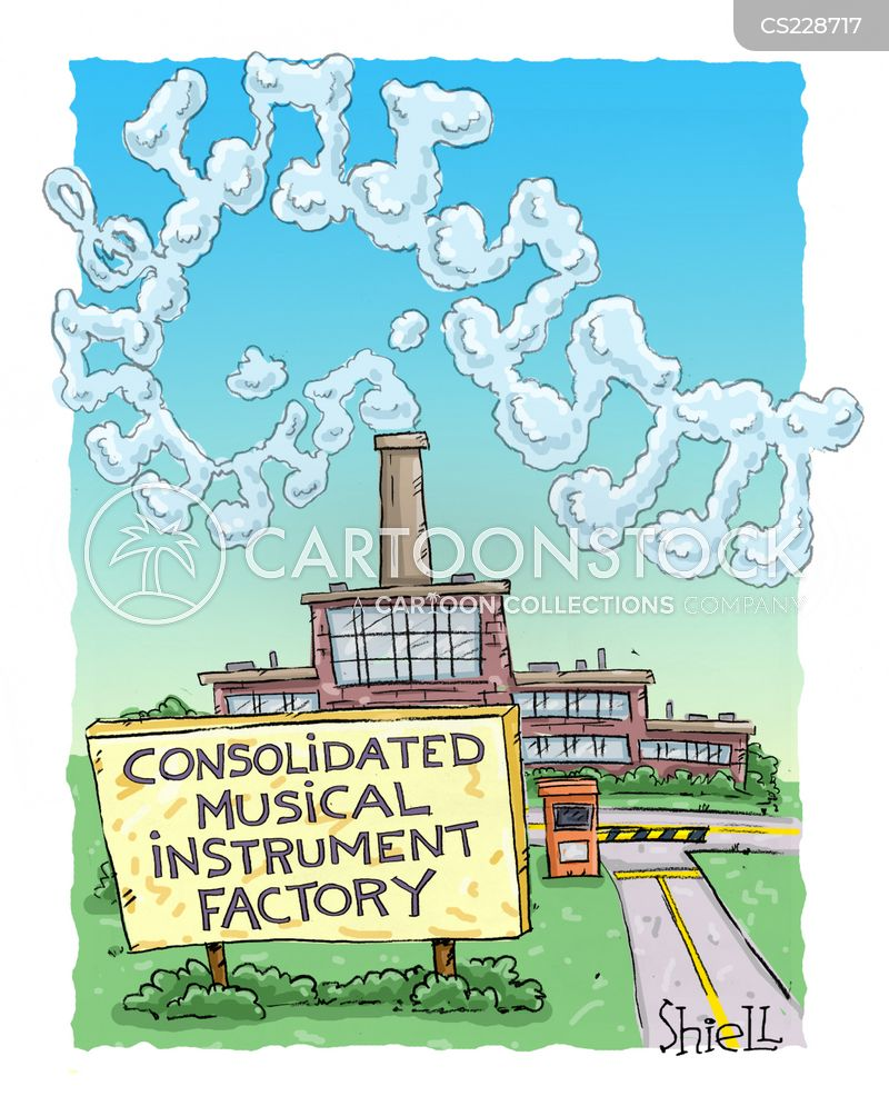 Industrial Cartoon Pictures Industrial Smoke Cartoon 1 of
