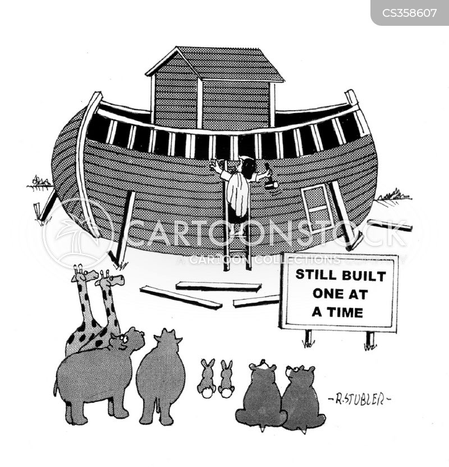 religious myth cartoon