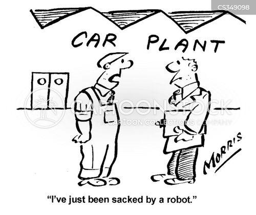 car plant cartoon