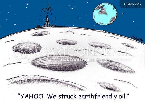 space explorations cartoon