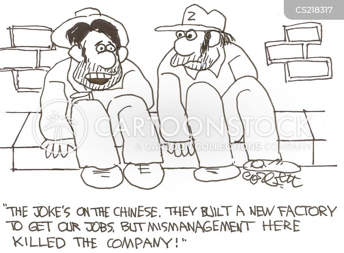 mismanaging cartoon