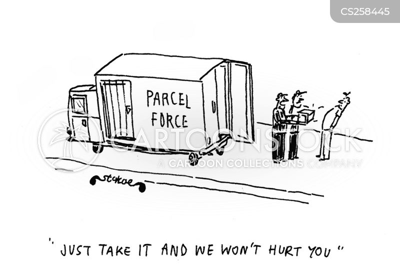 parcel force cartoon