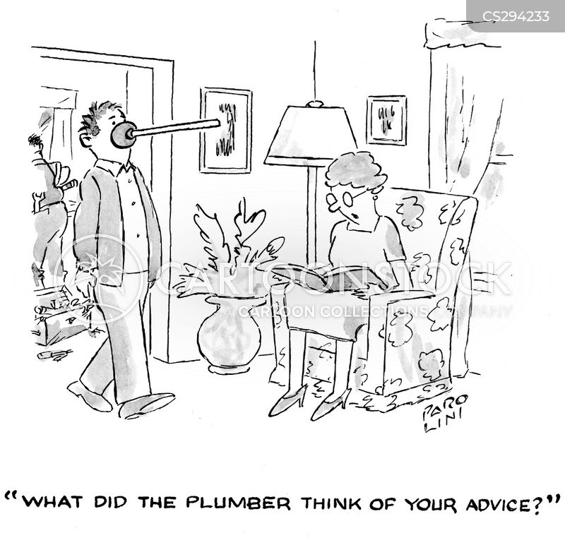 plunger cartoon
