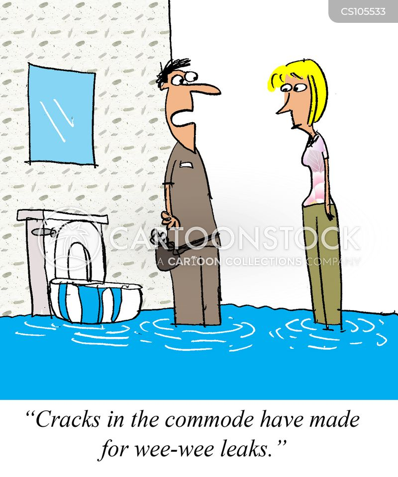 commode cartoon