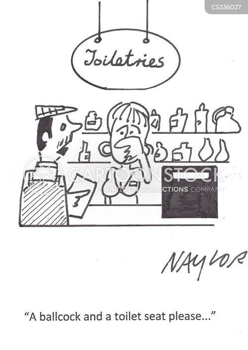 plumbing supplies cartoon