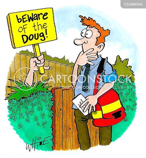 post services cartoon