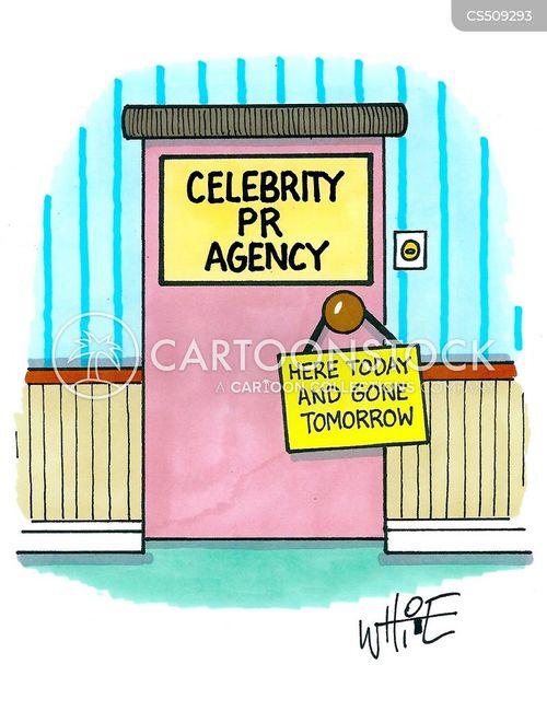 pr company cartoon