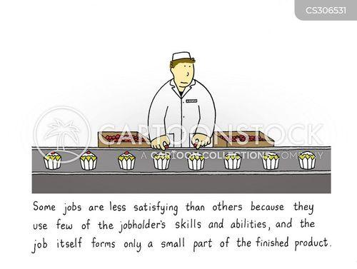 production lines cartoon