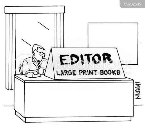 font size cartoon