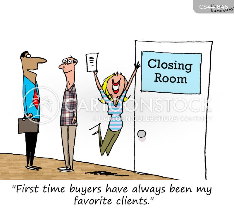 First Time Buyers cartoons, First Time Buyers cartoon, funny, First Time Buyers picture, First Time Buyers pictures, First Time Buyers image, First Time Buyers images, First Time Buyers illustration, First Time Buyers illustrations