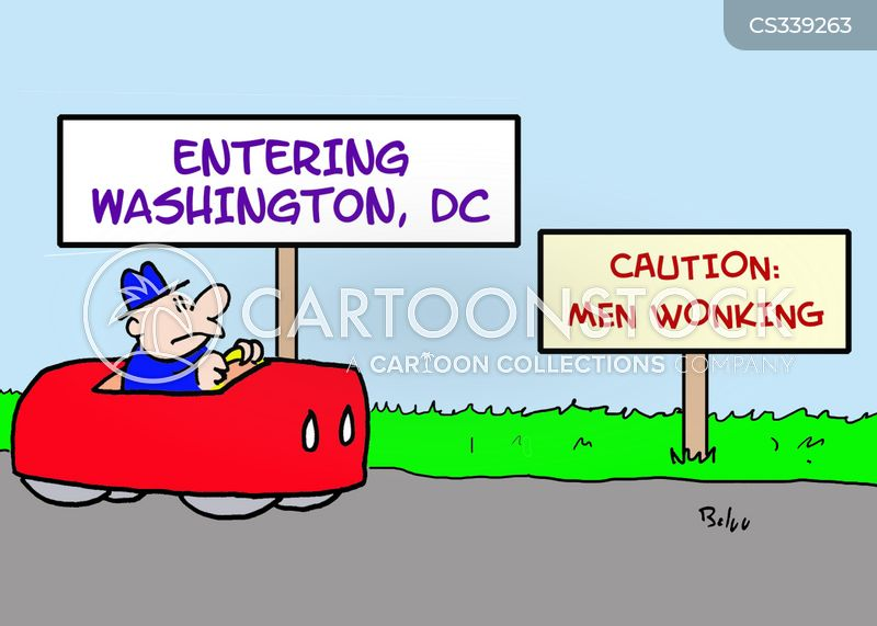 washingto dc cartoon