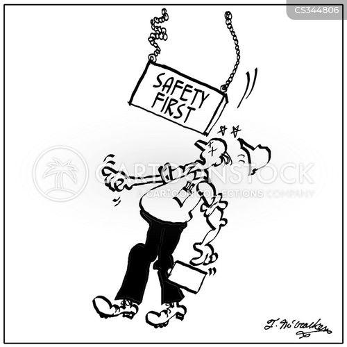 worker safety cartoon