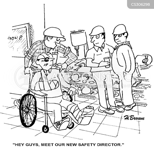 dangerous jobs cartoon