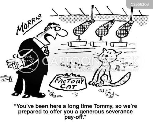 redundancy packages cartoon