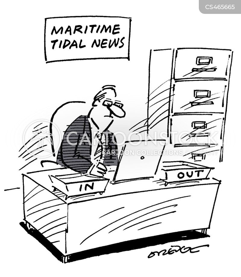wave power cartoon