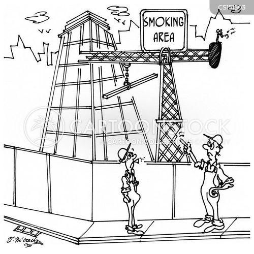 ironworker cartoon