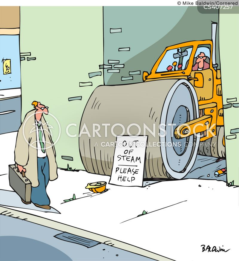 industrial supplies cartoon