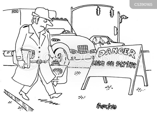 road worker cartoon