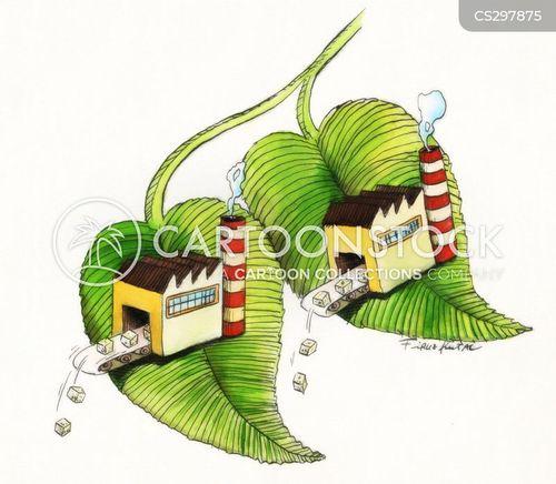 food production cartoon