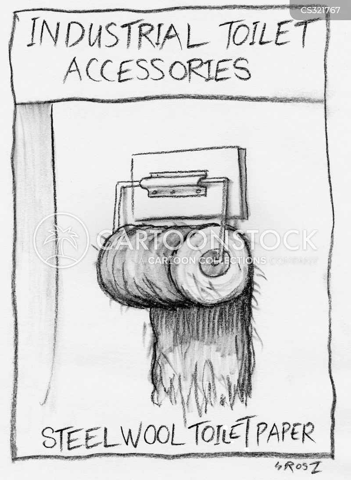 steel wool cartoon