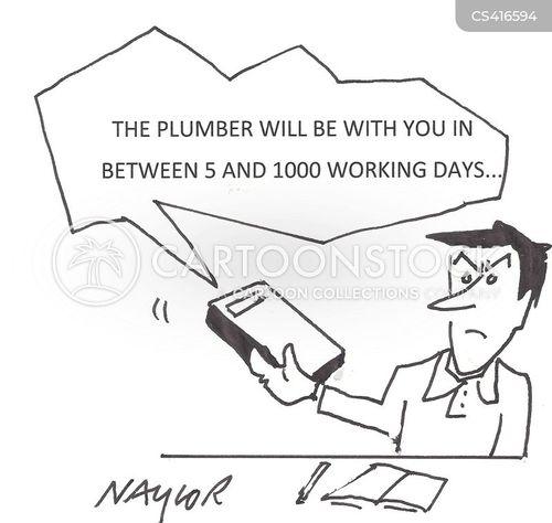 business days cartoon