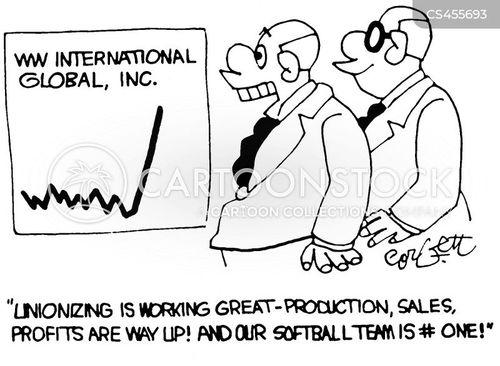 unionizing cartoon