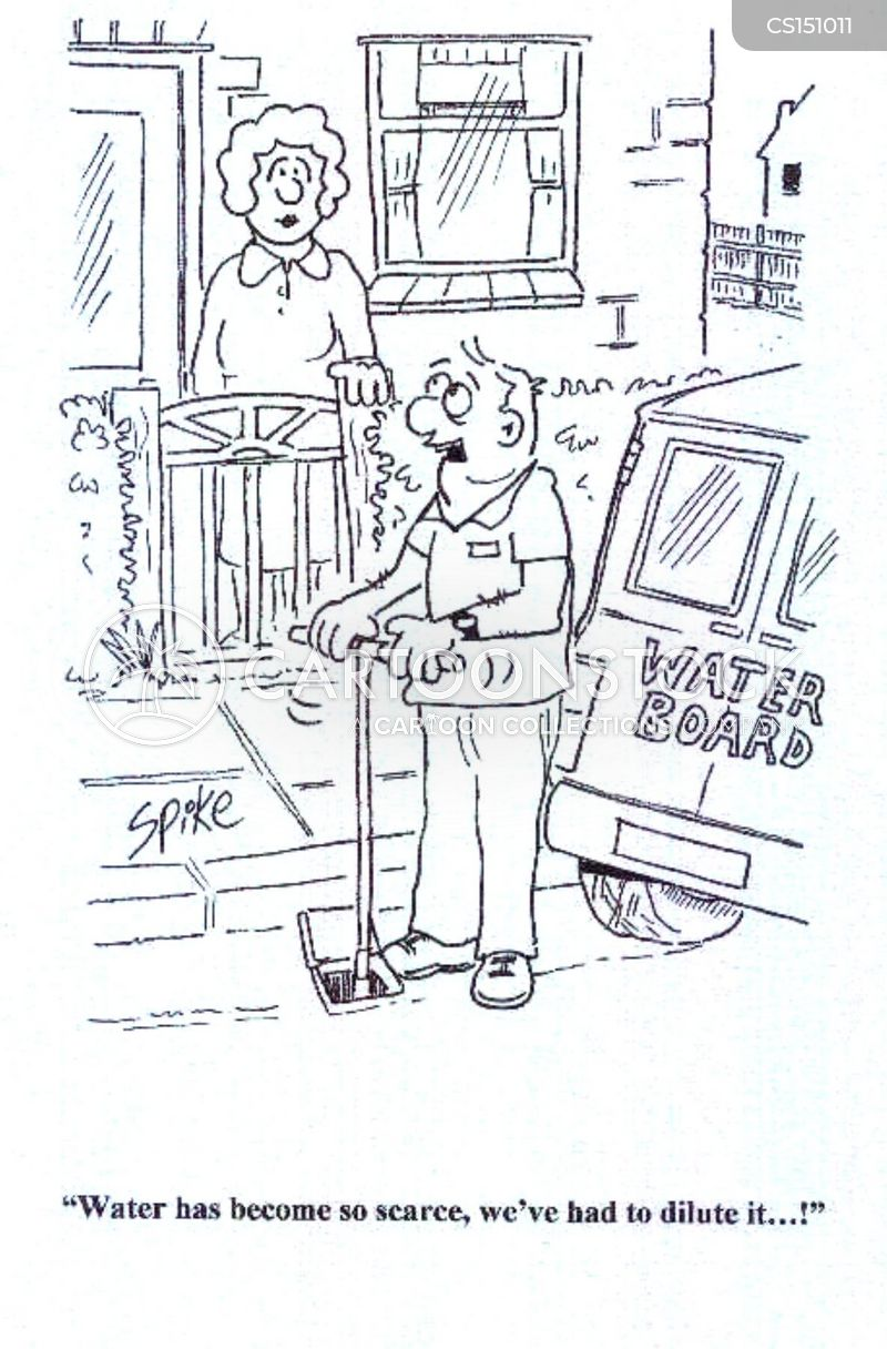 wtaer company cartoon