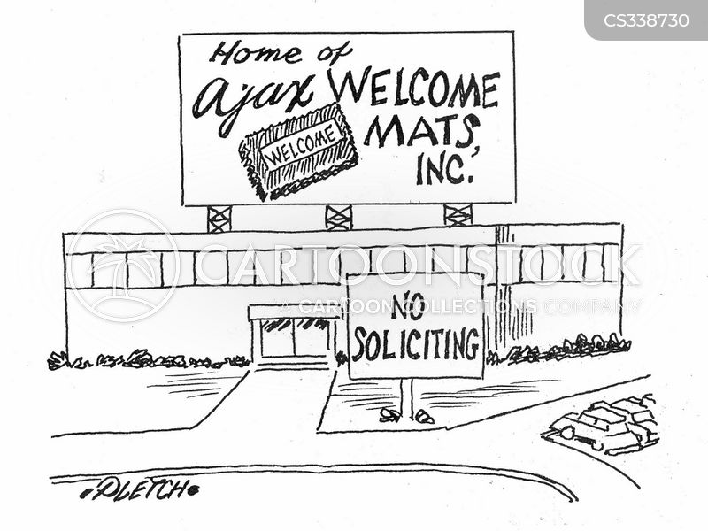 warm welcomes cartoon