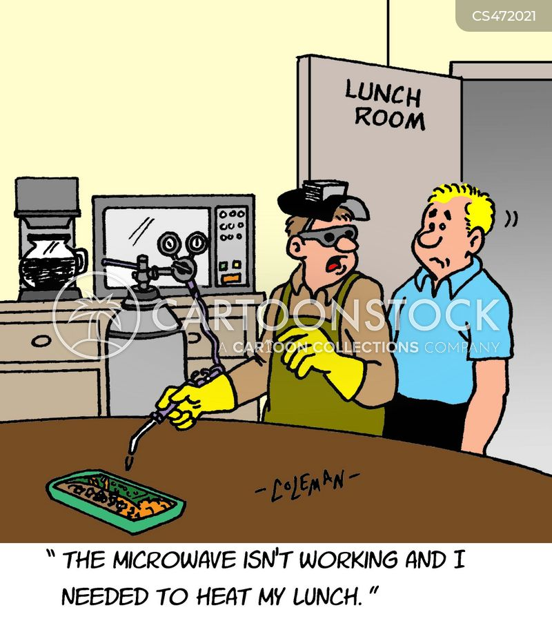 lunchrooms cartoon