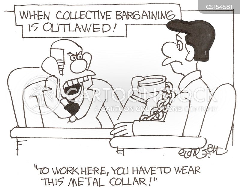 Collective Bargaining Cartoons And Comics Funny Pictures From