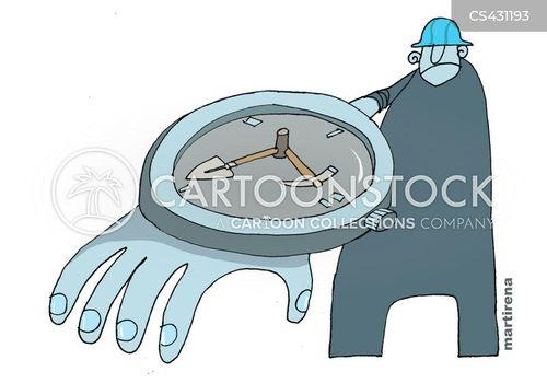 wrist watches cartoon