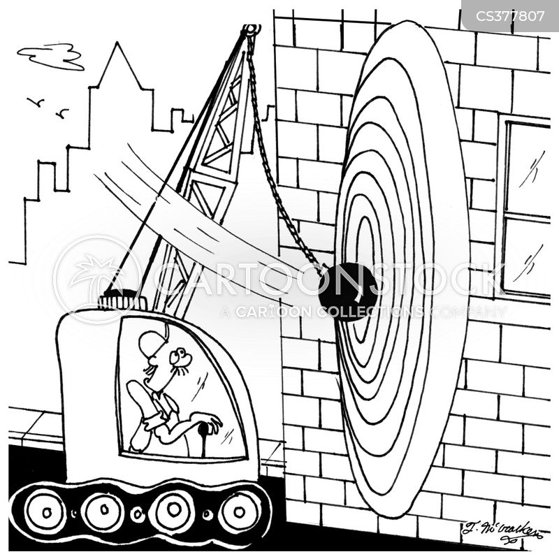 demolitions crew cartoon
