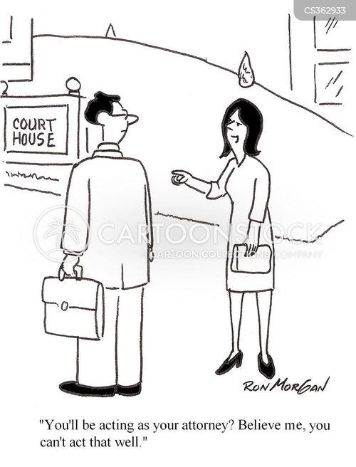 Lawyer Cartoons - Randy Glasbergen - Glasbergen Cartoon Service