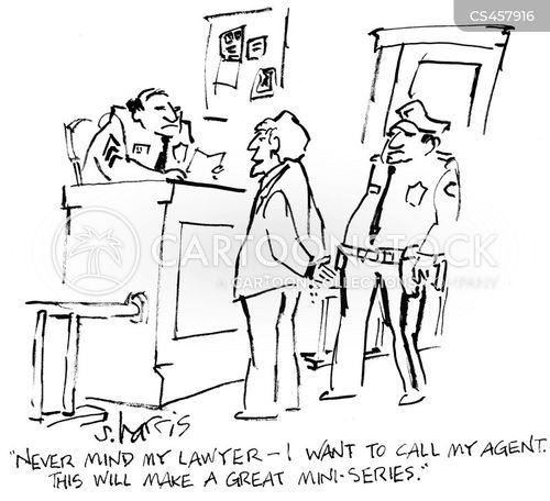 talent agents cartoon