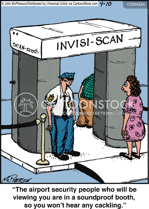 security procedures cartoon