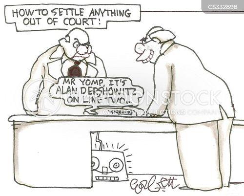 criminal lawyer cartoon